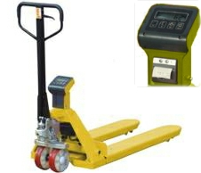 Weighing Scale Pallet Truck with Printer HP-ESR-P